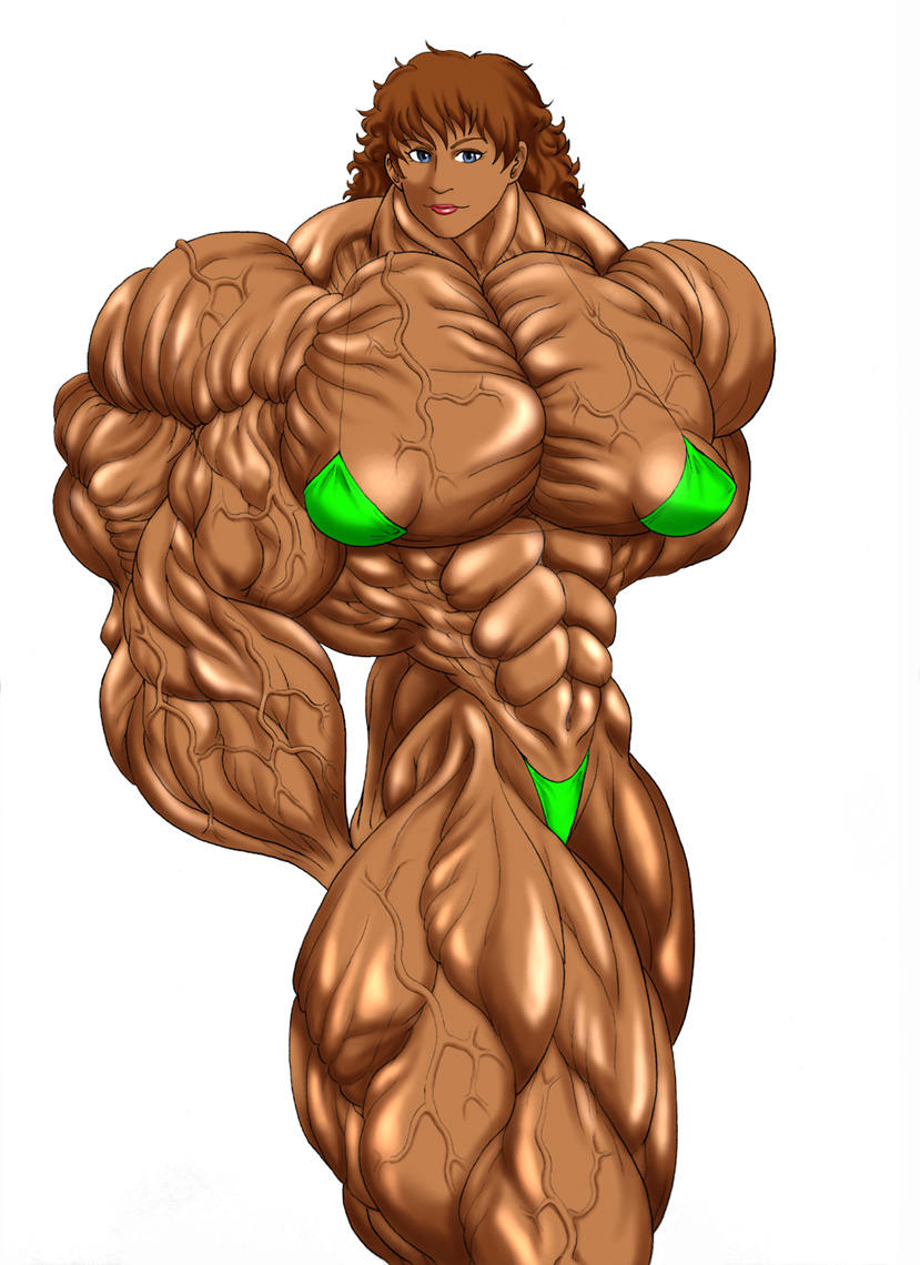 Huge muscle women in animated videos naked clips