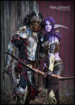 Orc and Night Elf