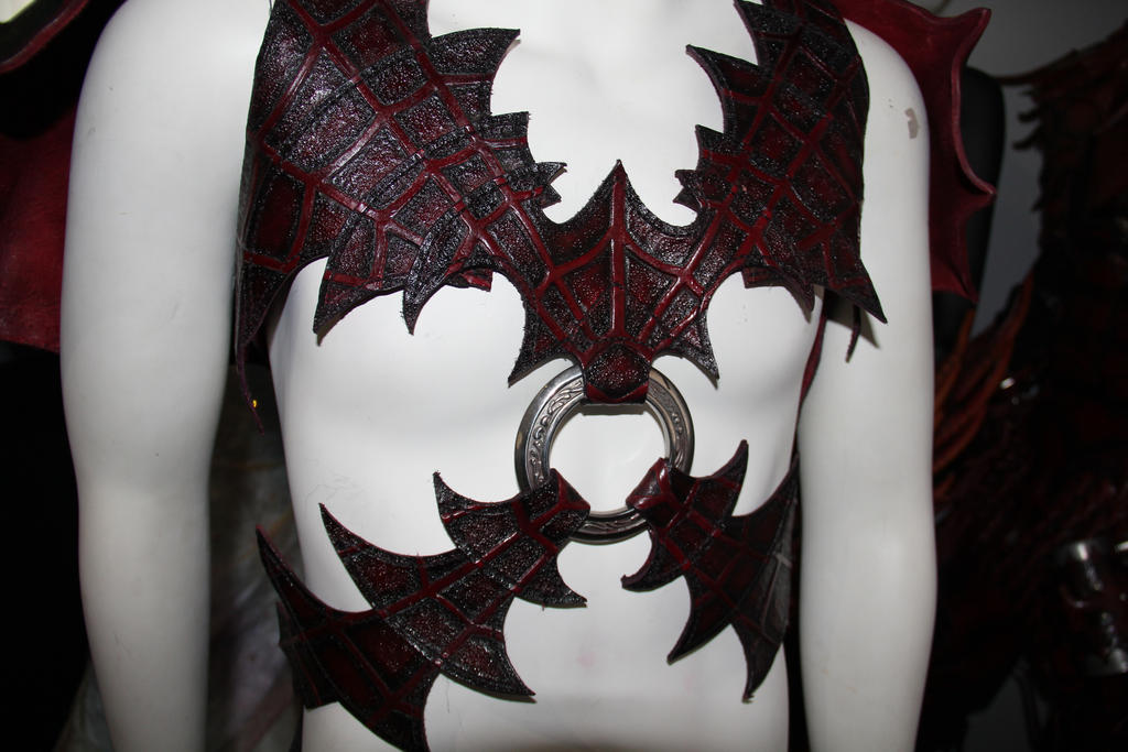 Drow Harness Detail by Red-Dragon-Lord