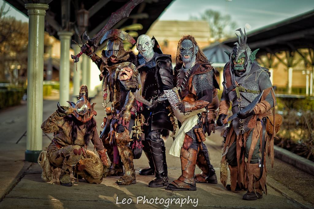 Blud Dawg Orcs invade Conooga by Red-Dragon-Lord