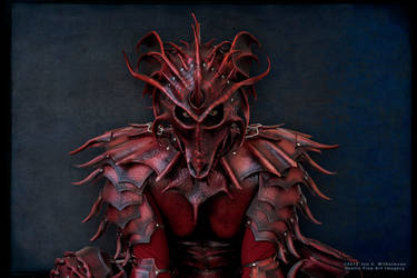 Dragon Lord Poised by Red-Dragon-Lord