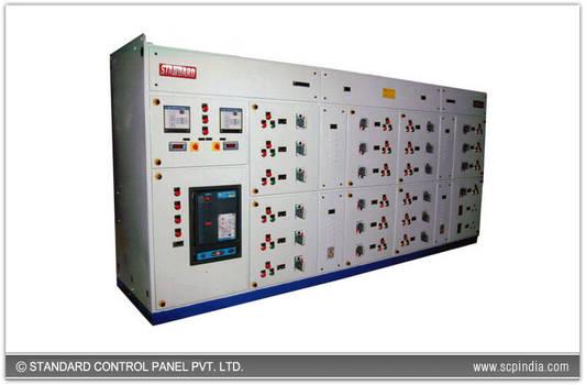 Power-factor-controller-panel
