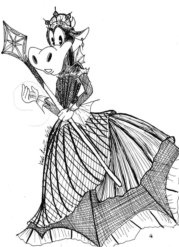 Clarabelle - Micron Dress by Dalia1784