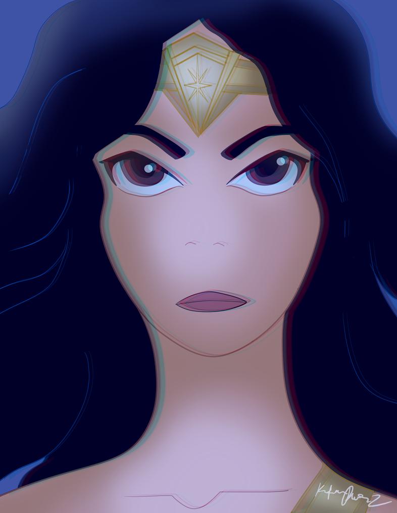 Wonder Woman by Dalia1784