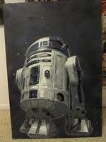 R2D2 by Stencilart101