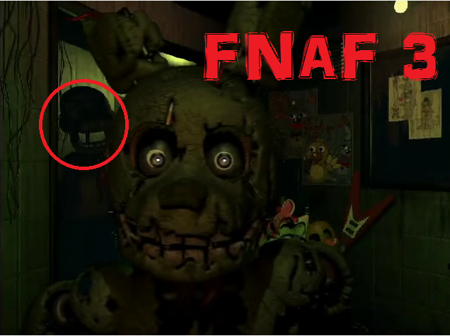 Fnaf 3 trailer new animatronic is not goldenfred by furbaii on