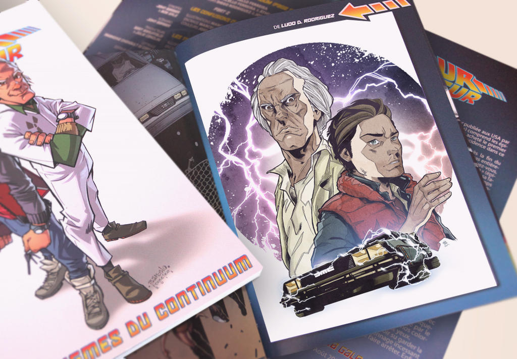 Cover Artwork for 'Back to the Future - Vol.2' by LudoDRodriguez