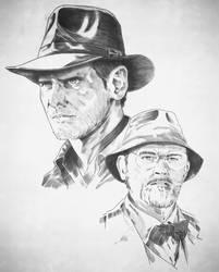 [WiP] Indiana Jones by LudoDRodriguez