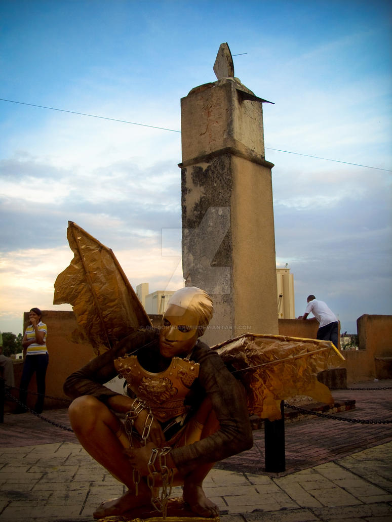 Angel caido by gregorydarwin