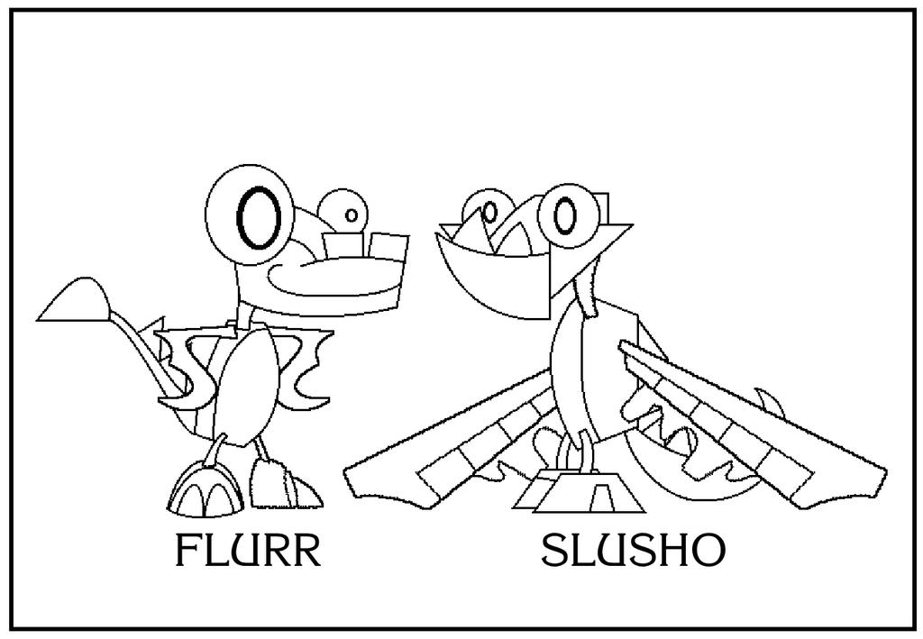 slushies coloring pages - photo#13