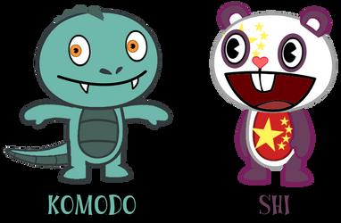 Komodo/Shi Refs