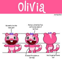 Olivia Turnaround Art by TheYoshiState