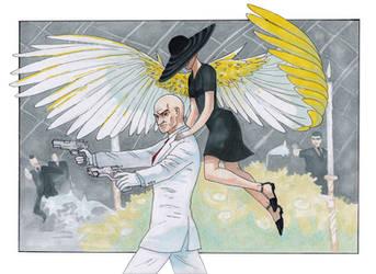 Hitman: Guardian Angel by DarthShana