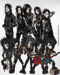 BVB and their chibis by KymmieCup
