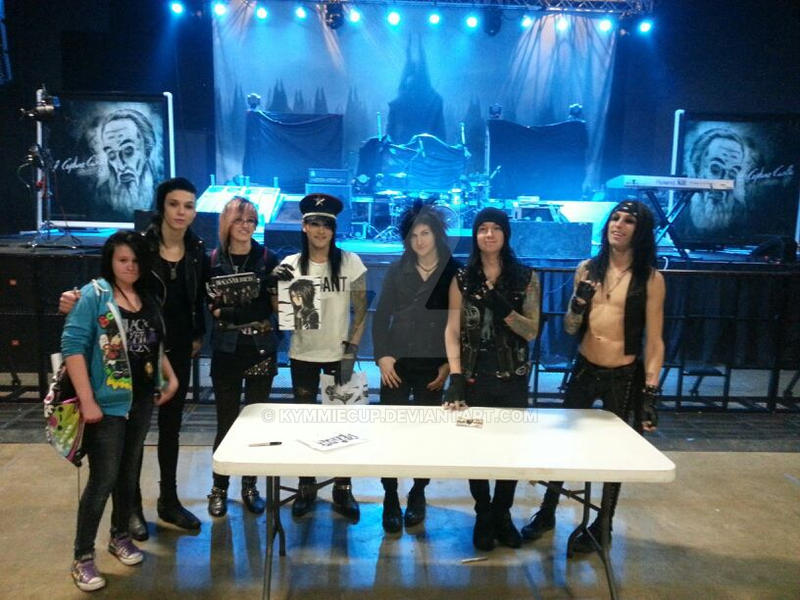 My cousin and I with the BVB boys by KymmieCup