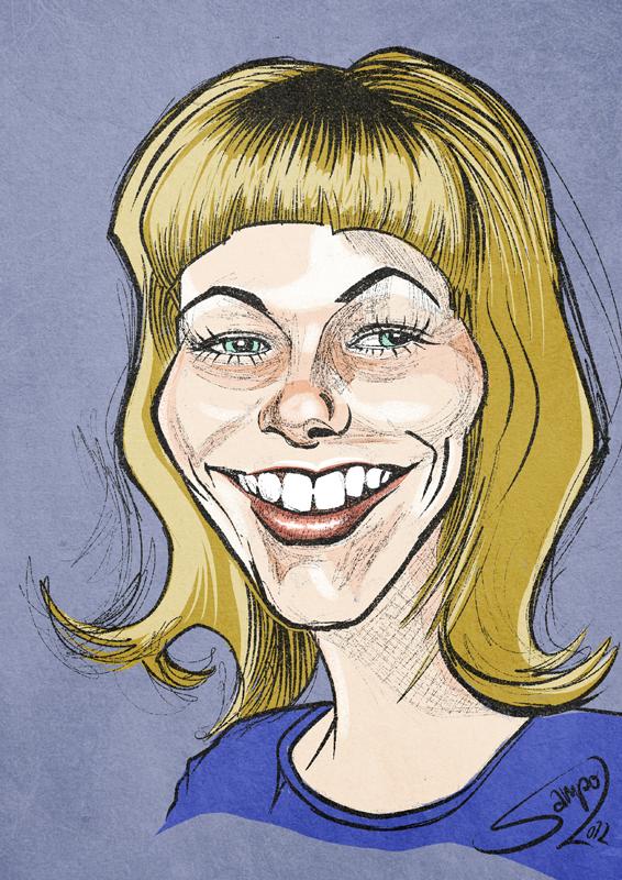 Mom caricature by LaserDatsun