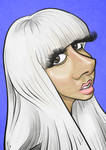Lady Gaga Caricature