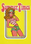 Summer Times 1979 Cartoon Pinup T-shirt