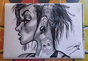 Ink practice by LaserDatsun