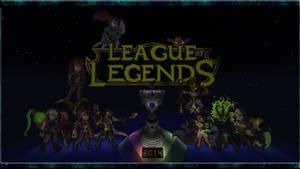 League2014Minecraft by ScreamheartArt