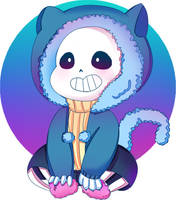 Kitty Sans .:CHIBI REQUEST:. +SP by Yaniki