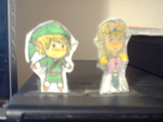 Link and Zelda : Awwww by Gamer092