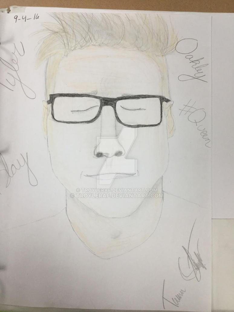 Tyler Oakley by Troyleraf
