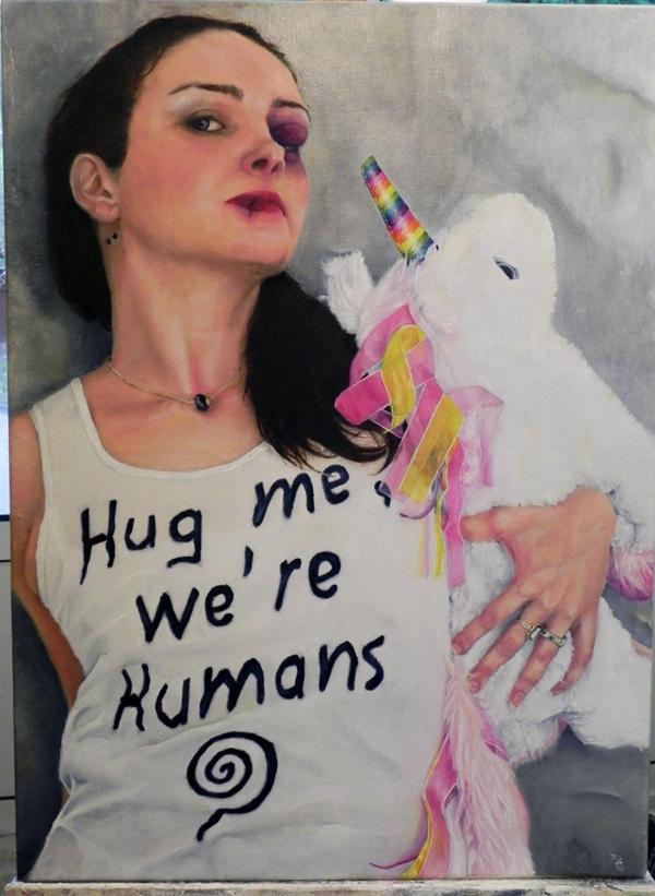 Hug me by lawrascasa