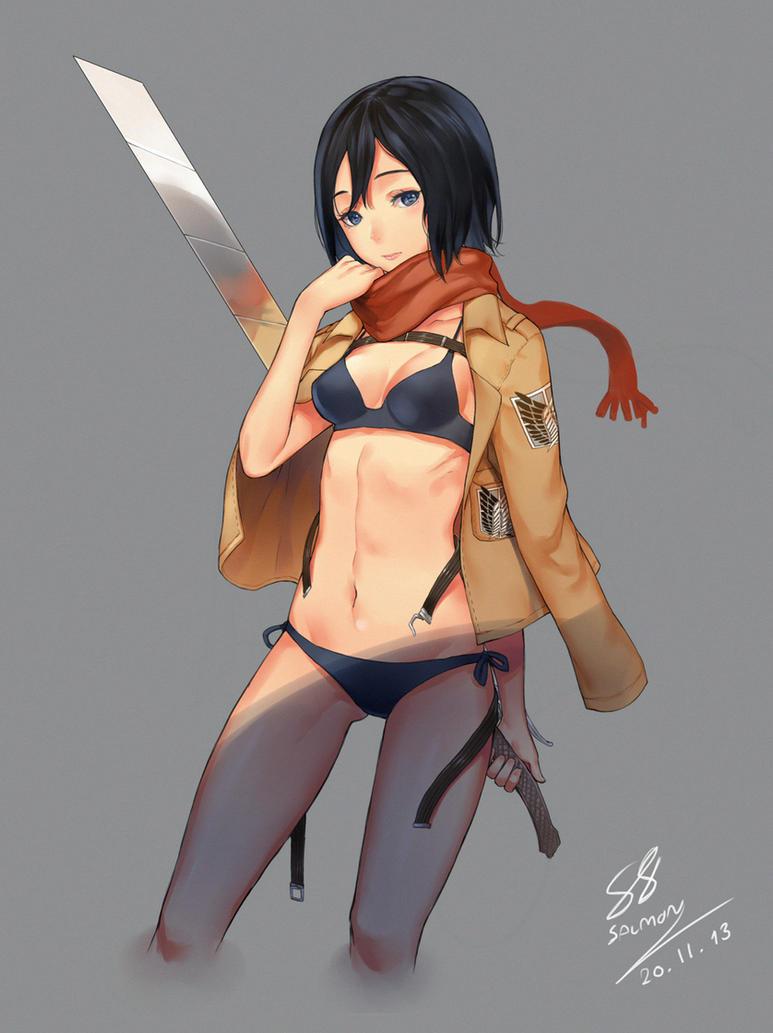 FA Mikasa by Salmon88