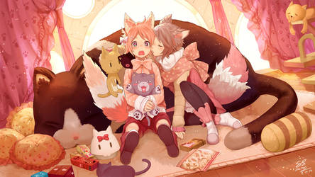 Kaoru and Kururu