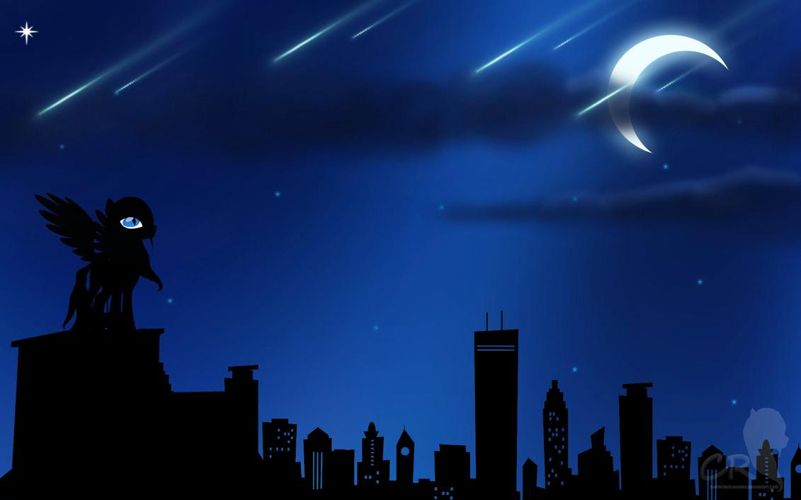 Night Sky by RozasSoul