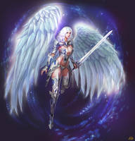 Angel Warrior by kveldulver
