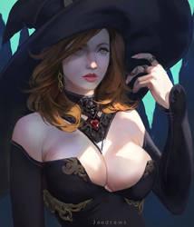 Sorceress by kveldulver