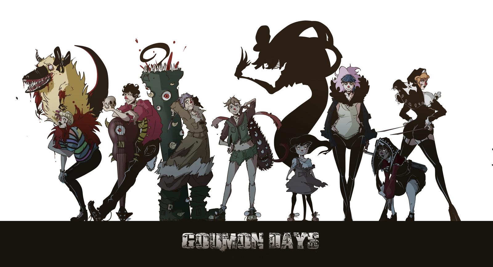 Deviantart Character Design : Goumon days original character design the alice by