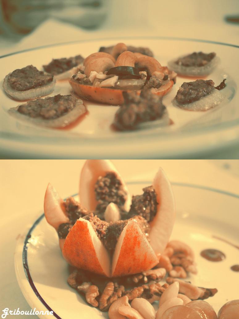 Mon Plat avec 6 ingredients by Gribouillonne