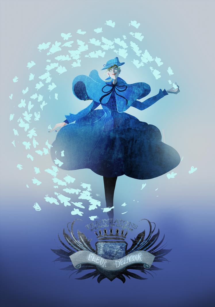 Fleur Delacour by Gribouillonne