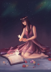 Book of Fae by lIvanalDoganl
