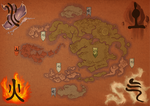 Avatar: the Last Airbender Map