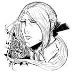 Speed head sketch Angelo by WizzardFye