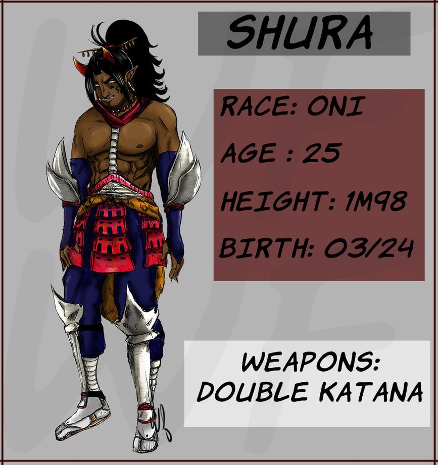 Reference Sheet - Shura by WizzardFye