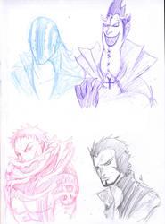 Sketch - One Piece Set 3 by WizzardFye