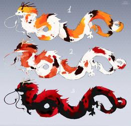 Dragons Koi adopts (OPEN)
