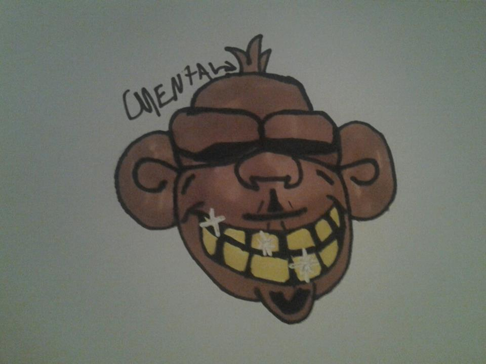 Monkey With Gold Teeth By Cmathis92 On Deviantart