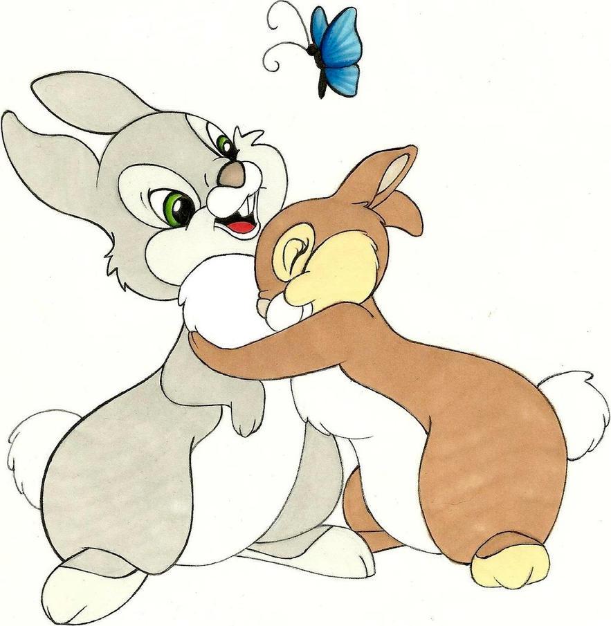 Disney's rabbits by Ag...