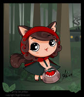 Little red chib by kinkei