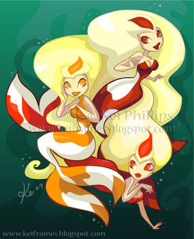 Koi Mermaids