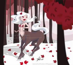 Winter Centaur by kinkei