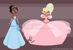 Tiana and Charlotte