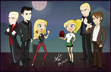 Buffy vs true blood by kinkei