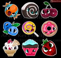 sweet things by kinkei